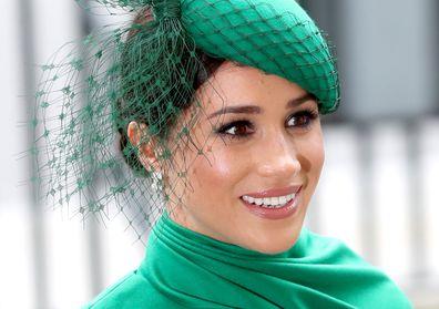 Kate Middleton earrings Meghan Markle Birks Commonwealth Day Queen Elizabeth brooch