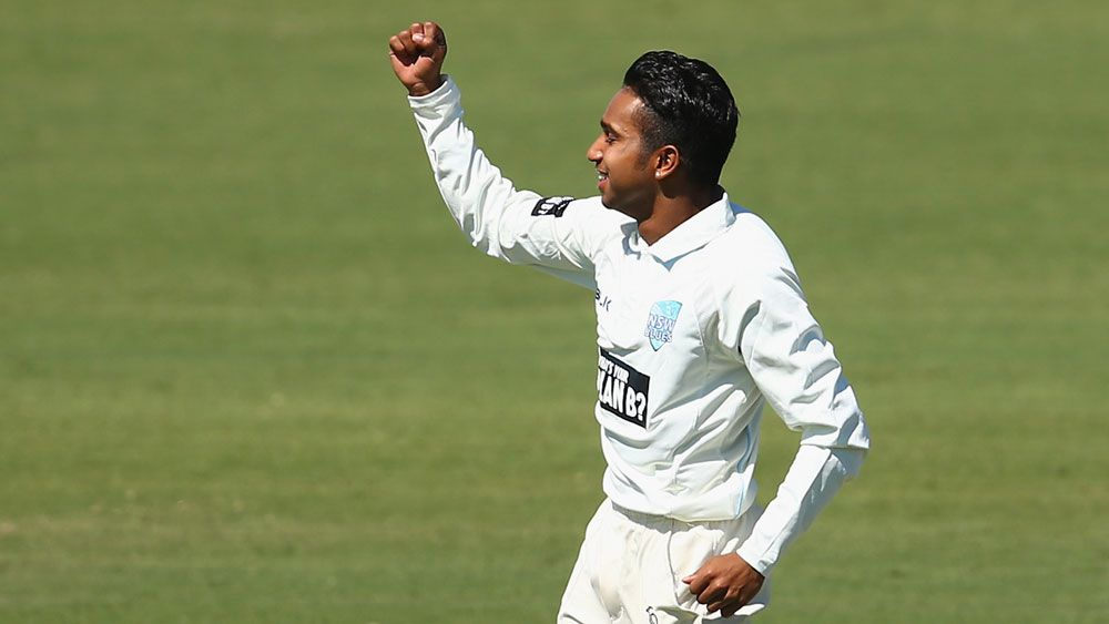Jason Sangha was awarded a NSW contract along with fellow teenager, Arjun Nair (pictured). (Getty)