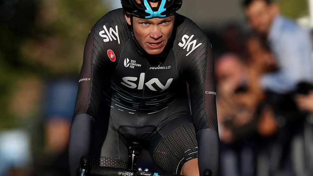 Chris Froome and Team Sky are determined to make a move. (AAP)
