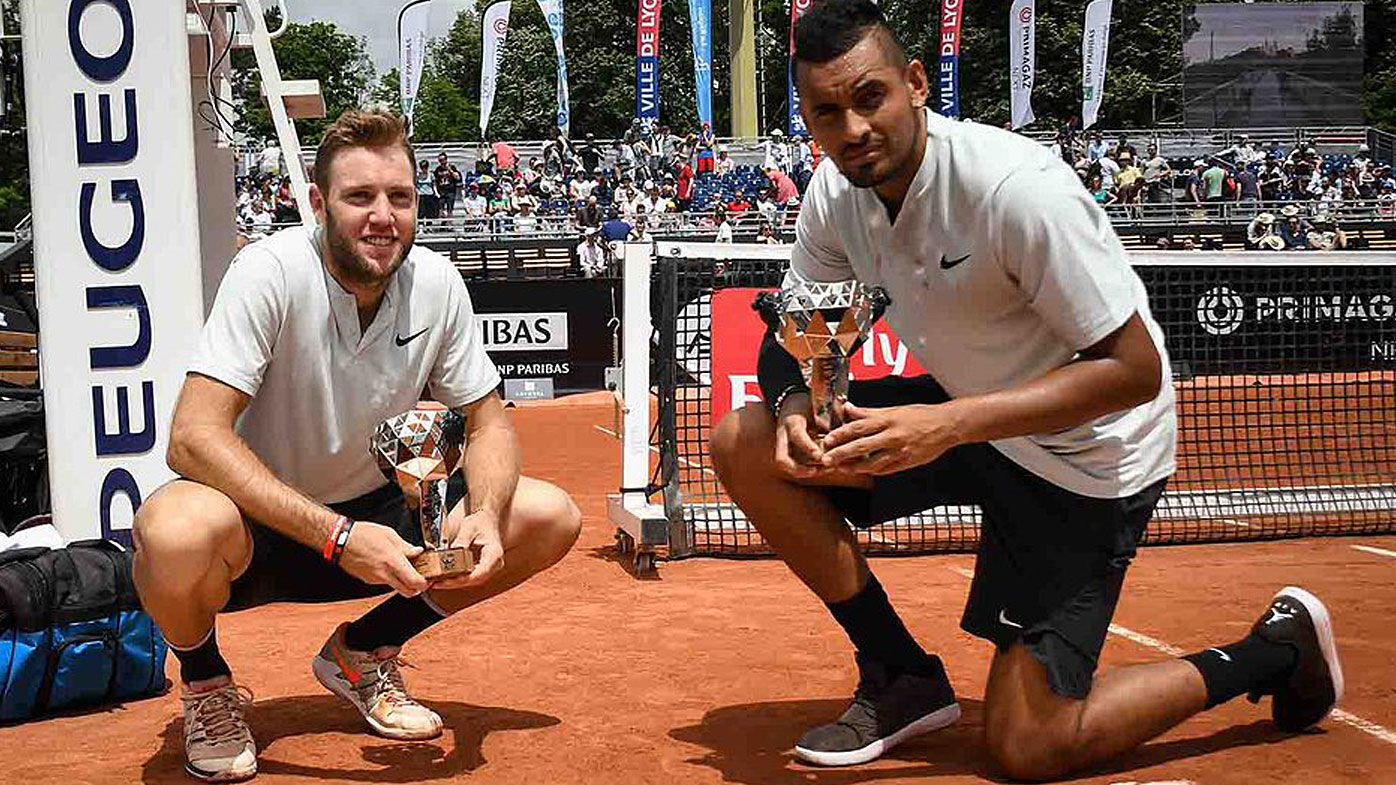 Jack Sock and Nick Kyrgios