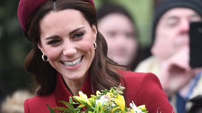 Kate Middleton attends church on Christmas Day, December 2018