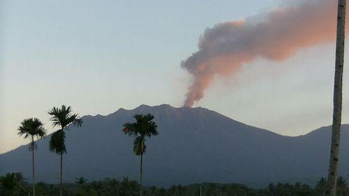 Mount Raung. (AAP)