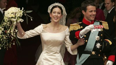 Mary Donaldson marries Prince Frederick, May 2004