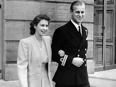 Prince Philip and The Queen get engaged