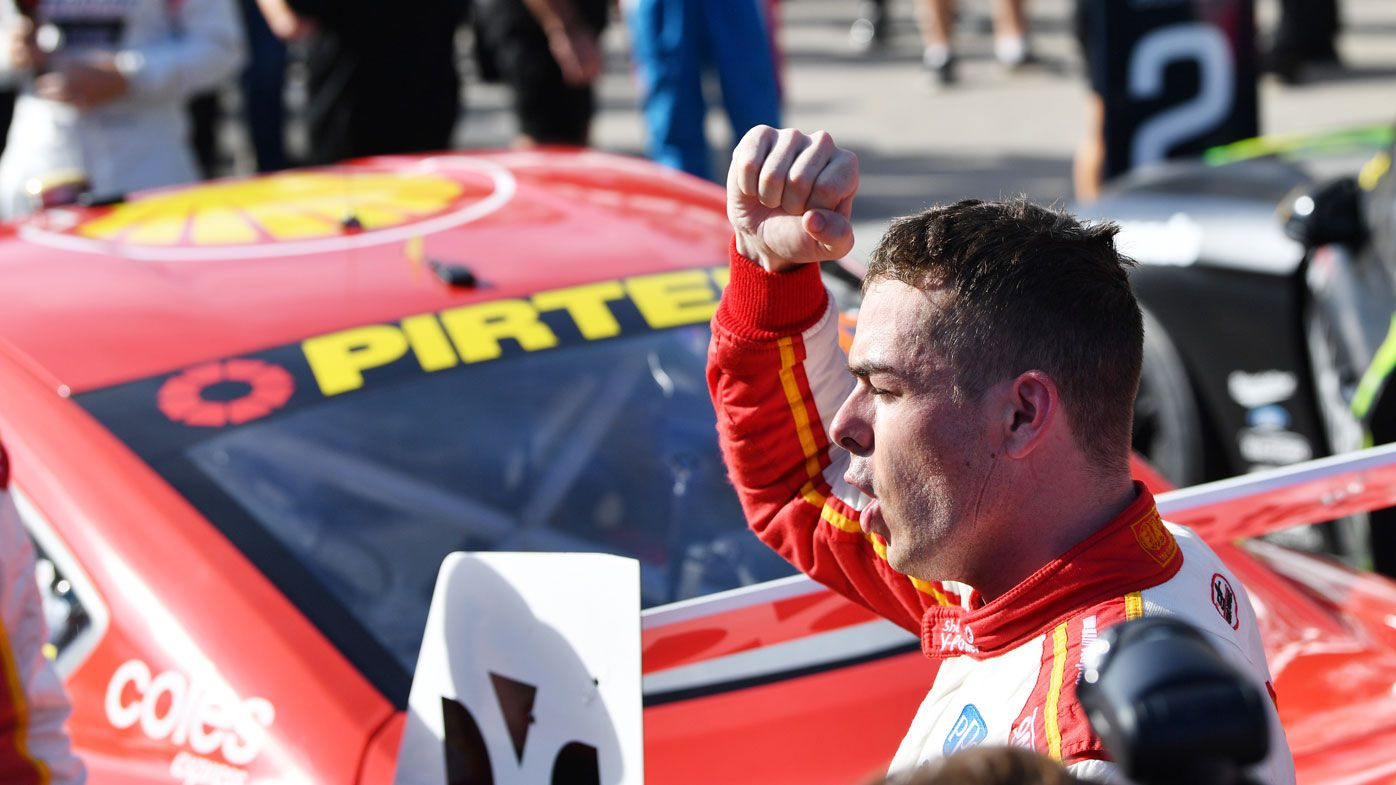 Safety car causes chaos as McLaughlin, Mustang sweep Supercars opener