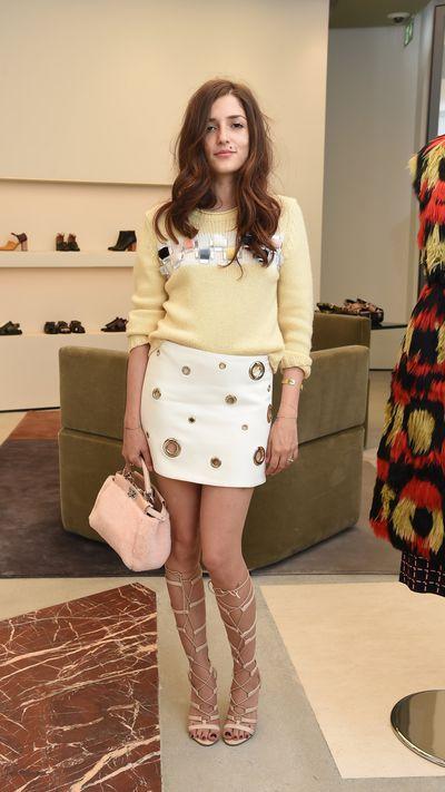 <p>Blogger Eleonora Carisi.</p>