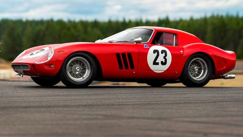 The car has had a series of distinguished owners. Picture: Sotheby's
