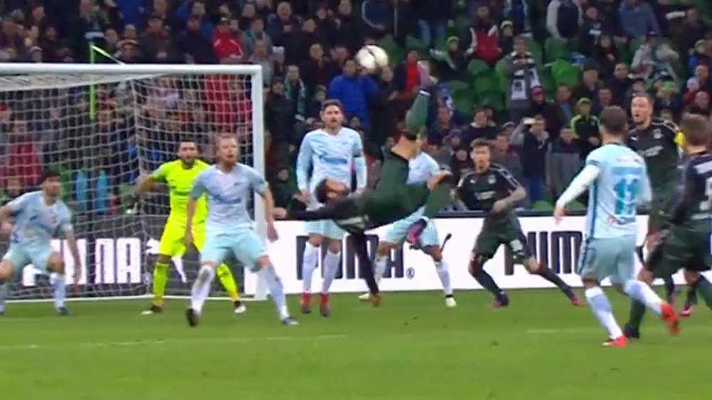 Football: Midfielder stuns with spectacular match-winner