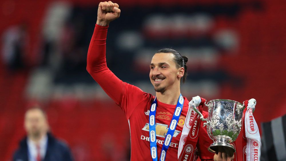 Ibrahimovic wins League Cup for Man U