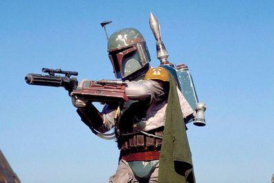 Jeremy Bulloch in Star Wars Episode VI Return Of The Jedi.