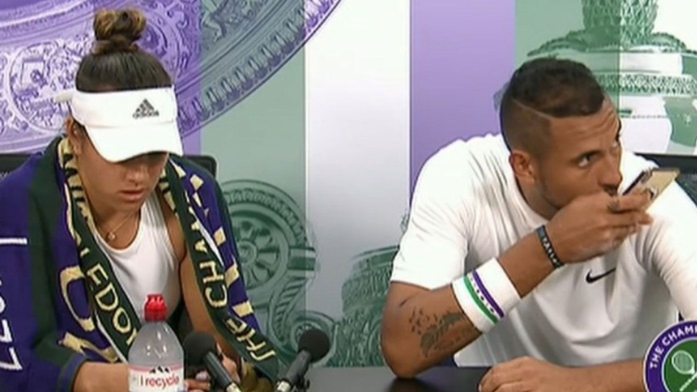 Did Nick Kyrgios get caught planning 'club' visit after Wimbledon doubles loss?