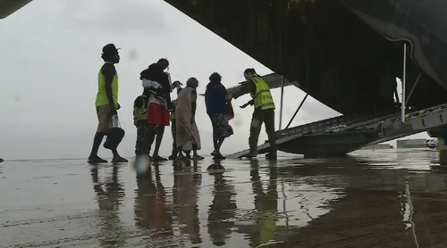 Evacuations have been in place for remote communities affected by Tropical Cyclone Trevor's destruction.