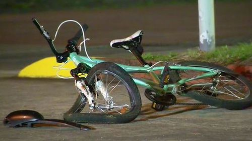 The girl, who was not wearing a helmet, was placed in an induced coma with life-threatening internal injuries and a fractured rib.