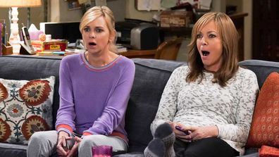 Anna Faris and Alison Janney in Mom.