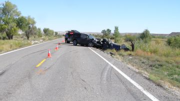 An Australian man has been killed and his wife seriously injured in a Utah car crash.