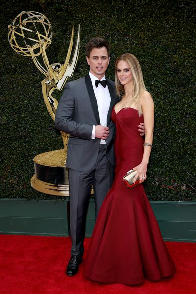 <em>The Bold and the Beautiful</em>'s Darin Brooks and Kelly Kruger in Zac Posen
