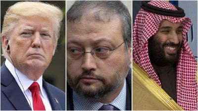 Khashoggi killing threatens Trump's peace plans