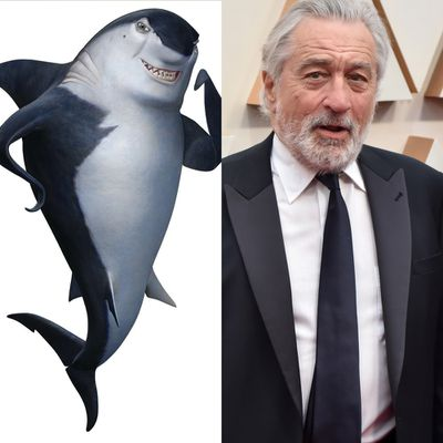 Robert De Niro as Don Lino in Shark Tale