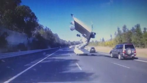 Dashcams have captured a number of incidents where caravans have posed a danger on the roads.