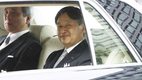 Crown Prince Naruhito will take the throne tomorrow.
