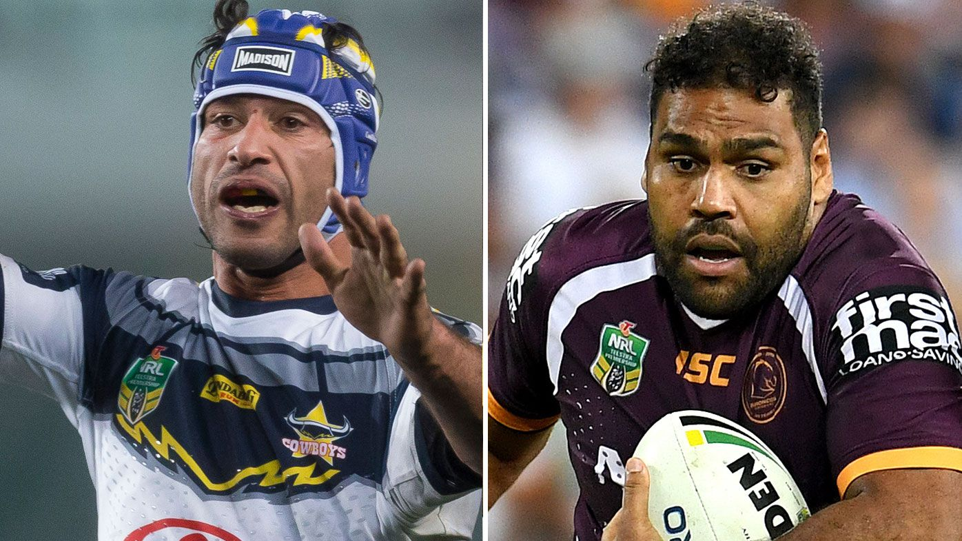 Sam Thaiday Johnathan Thurston
