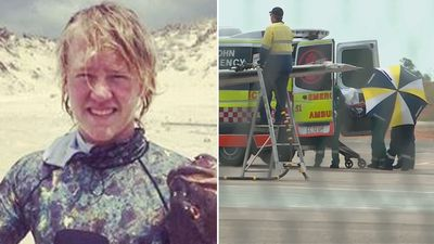 Shark attack victim and aspiring footballer critical after surgery