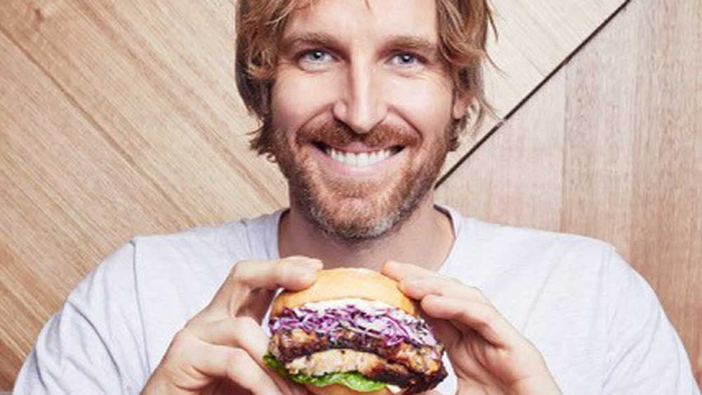 Darren Robertson's Splendour burger