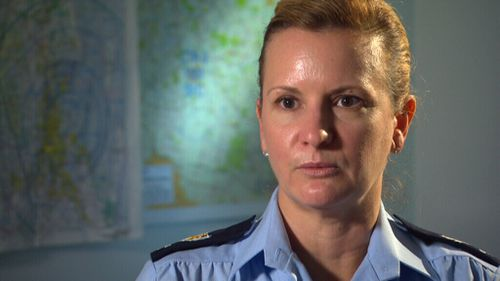 Senior Sergeant Pamela Leech is the officer in charge of Polair in Queensland.