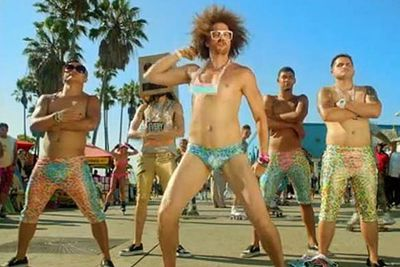 And we thought the chorus to 'Party Rock Anthem' was hard to get out of our heads… In September, LMFAO served up the video for 'Sexy And I Know It', and well… they gave us a mental image that was more difficult to shake off than one of their club-ready hooks: Impossibly tight metallic Speedos. Jiggling manbits. Thrusting. As unsettling as it was hypnotic, the video was a viral smash online, forever changing the way we non-LMFAOers look at Speedos…