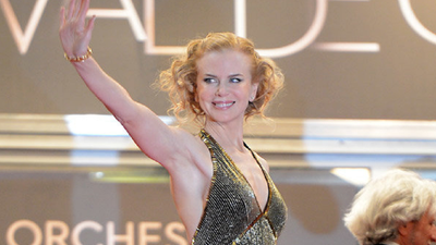 Nicole Kidman at the opening of movie 'Hemingway & Gellhorn' at the Cannes film festival in 2012.