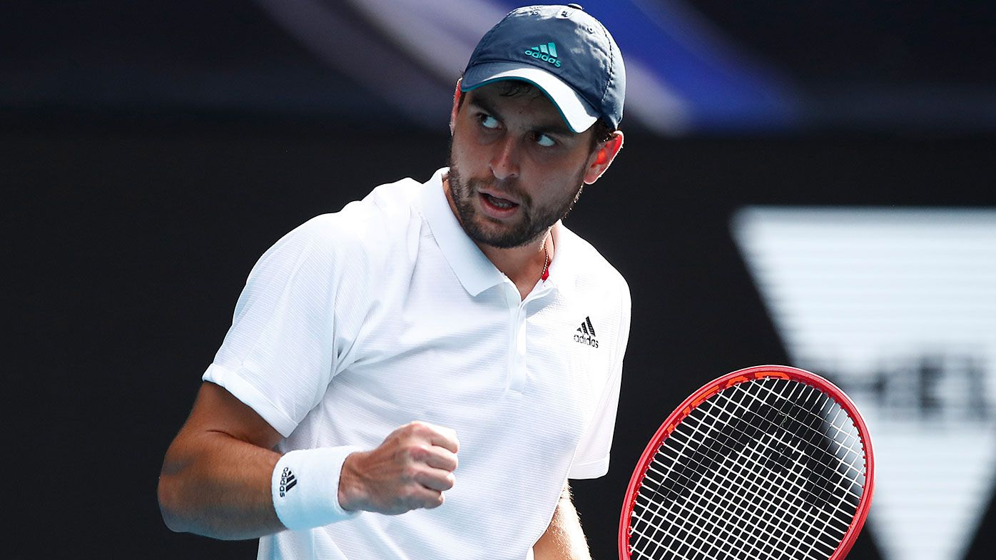 Russian qualifier Aslan Karatsev's incredible Australian Open run continues
