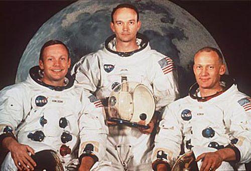 Neil Armstrong, Michael Collins and Buzz Aldrin (NASA)