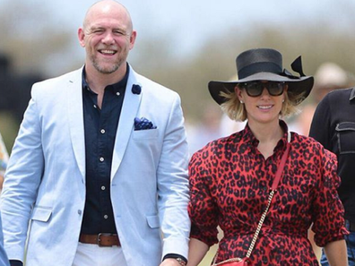 Zara and Mike Tindall at charity event for bushfire victims in Queensland