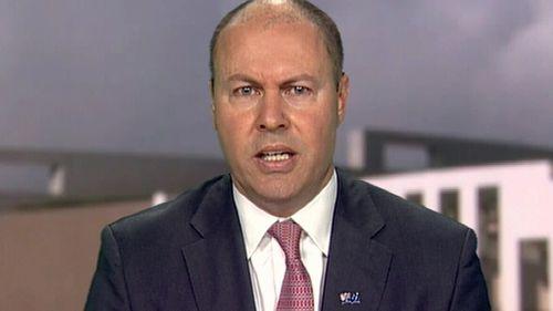 Treasurer Josh Frydenberg has slammed the slow reopening of Melbourne