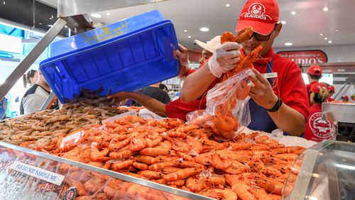 Thousands have already passed through the doors of the Sydney Fish Market. (AAP)