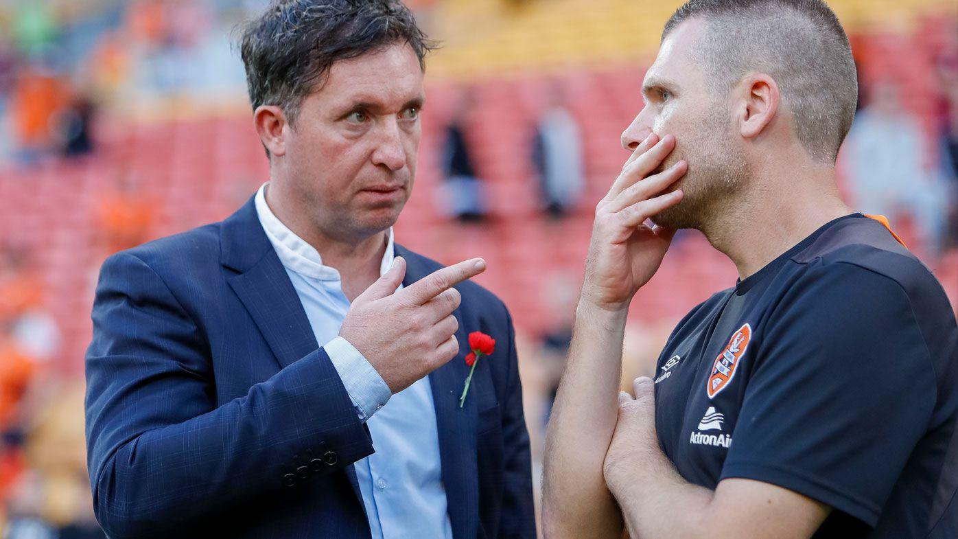 Football: A-League shocker leads to Robbie Fowler Brisbane Roar clear out