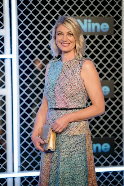 Tara Brown at the 2019 Nine Upfronts, Sydney, October 17, 2018