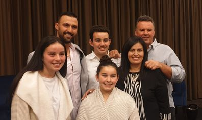 MAFS participant and testicular cancer survivor Nicolas Jovanovic visited the NSW teen.