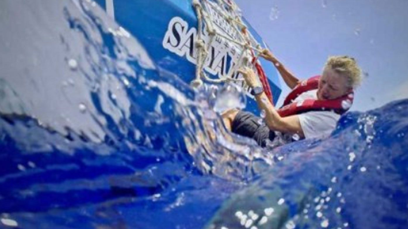 Historic win for Aussie sailor Wendy Tuck