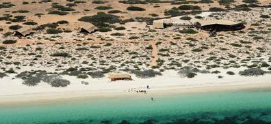 Sal Salis Ningaloo Reef luxury safari tent accommodation