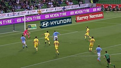 A-League: Ross McCormack scores winner as Melbourne City defeat Central Coast Mariners