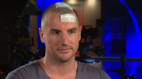 'I have a lump in the middle of my brain': Darren Jolly speaks out about shock of brain illness