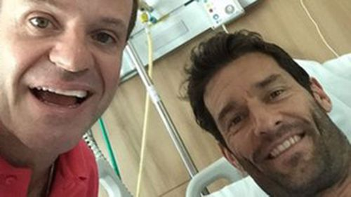 Mark Webber has no recollection of horror crash in Brazil