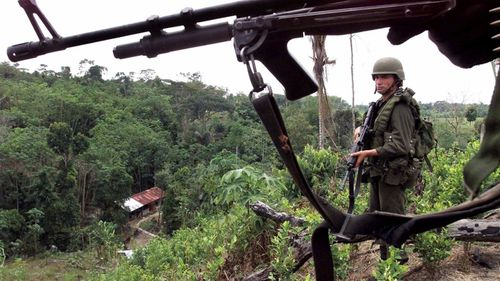 Rights group warns of new 'war' in Colombia's border zone