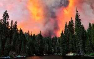 California's largest single wildfire spawned two massive firenados