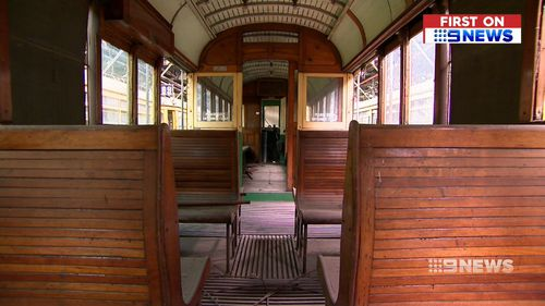 The W-Class trams were the workhorse of Melbourne's tram network for more than 60 years. Picture: 9NEWS.