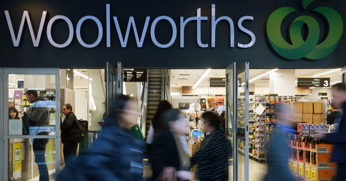COVID-19 panic buying drives huge sales growth for Woolworths – 9News