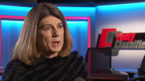 Caroline Wilson spoke out about the scandal this afternoon. (9NEWS)