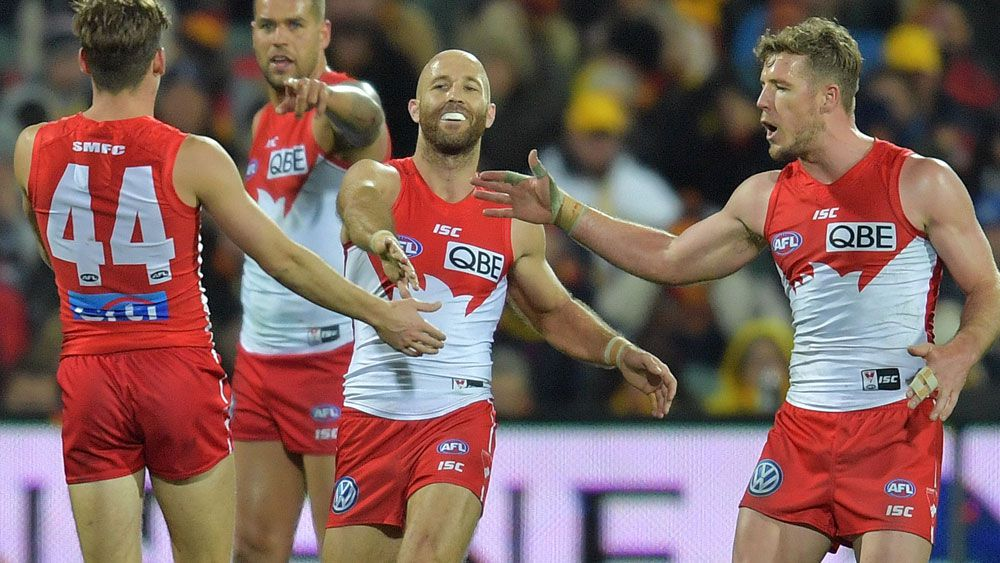 Swans pip Crows in AFL thriller