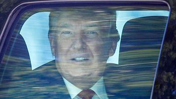 Donald Trump heading to Mar-a-Lago after leaving the White House.